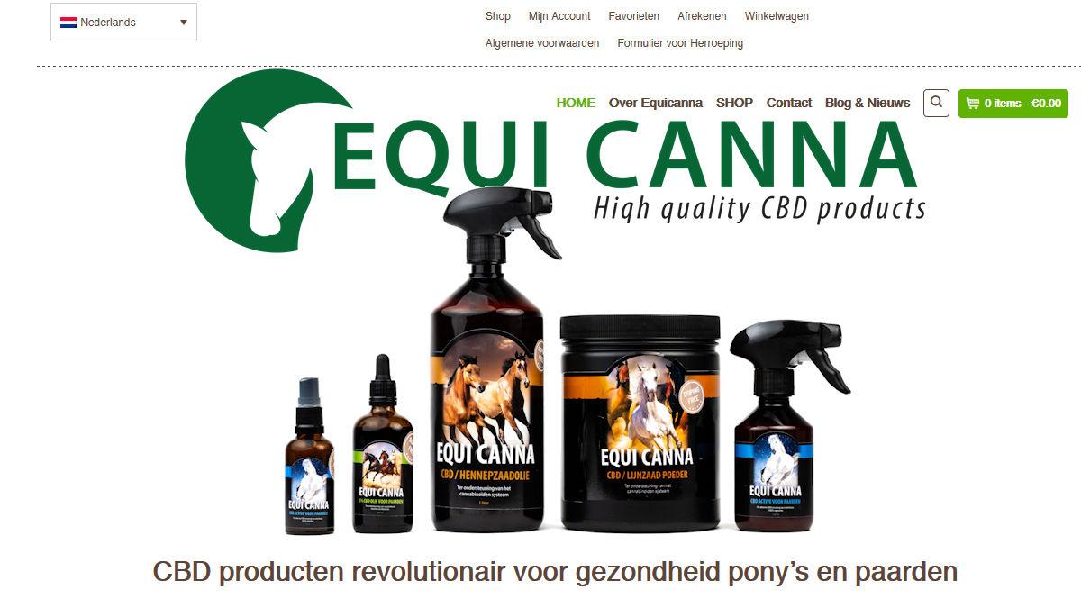 CBD producten revolutionair voor gezondheid pony's en paarden