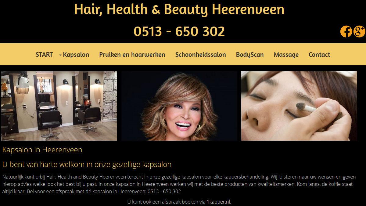 Hair, Health & Beauty Heerenveen: alles voor uw haar, gezondheid en uiterlijk
