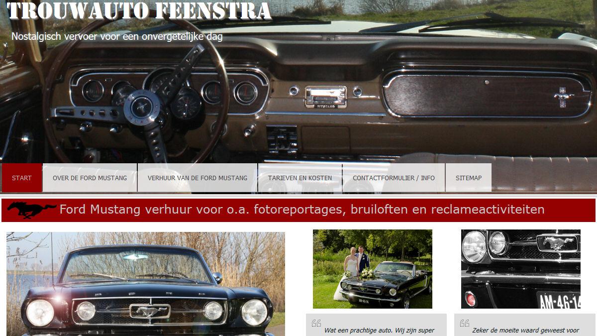 Feenstra Ford Mustang Verhuur